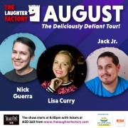 The Laughter Factory's 'Deliciously Defiant' Tour - Aug 2021
