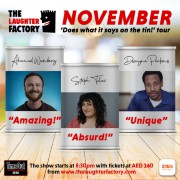The Laughter Factory's  'Does what it says on the tin!' Nov 2021