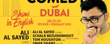 Montreux Comedy UAE 2019: English Gala w/ Ali Al Sayed