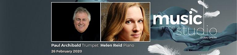 Music in the Studio 2020: Paul Archibald & Helen Reid