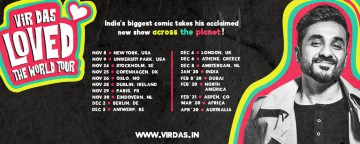 Vir Das 'The Loved Tour' 2020