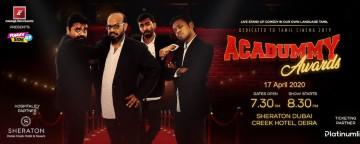 Acadummy Awards with Praveen Kumar, Manoj Prabhakar, Jagan Krishnan, Mervyn Rozario