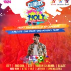 Tamquest Clorox Holi Beach Party 2019