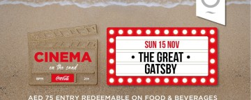 Zero Gravity: Cinema on the Sand - The Great Gatsby