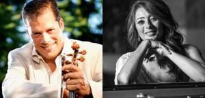 Music in the Studio 2018: Odin Rathnam & Amira Fouad