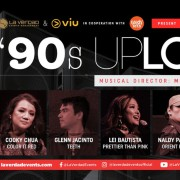 90's Upload w/ Cooky Chua, Glenn Jacinto, Lei Bautista & More