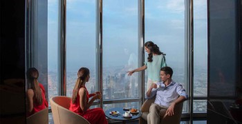 The Lounge - Burj Khalifa Tea in the Clouds