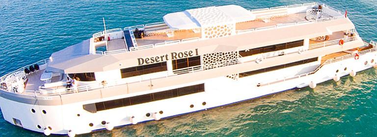 Desert Rose Mega Yacht Iftar Dinner & Sunset Cruise2019