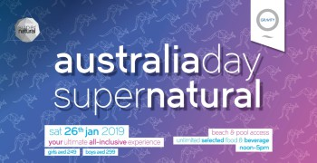 Zero Gravity Australia Day SuperNatural