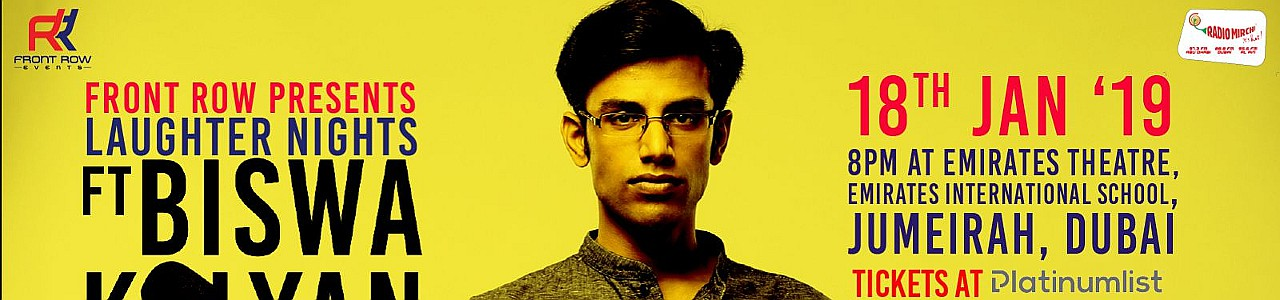 Front Row presents Laughter Night feat. Biswa Kalyan Rath
