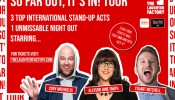 The Laughter Factory July 2019 w/ Stuart Mitchell, Allyson June Smith & Cory Michaelis - Abu Dhabi