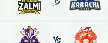 PSL 2018: Peshawar Zalmi v Karachi Kings & Quetta Gladiators v Islamabad United - 15 Mar