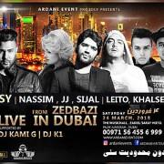 Zedbazi & Sasy Live in Dubai