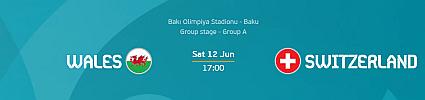 Euro 2020: Wales vs Switzerland