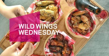 W XYZ Bar Wild Wings Wednesday