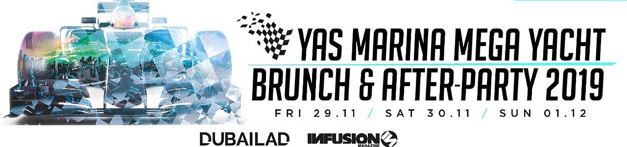 Yas Marina Mega Yacht Brunch & After-Party 2019
