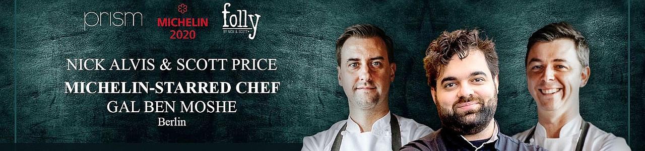 folly by Nick & Scott host Michelin Star Chef Gal Ben Moshe