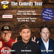 The Big Fish Comedy Tour w/ Ian D Montfort, Scott Bennett & Ivan Brackenbury