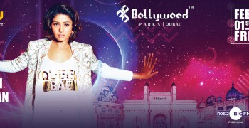 Sunidhi Chauhan Live at Bollywood Parks™
