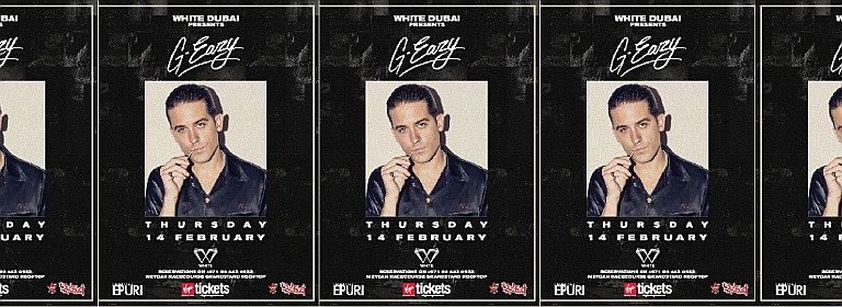 WHITE Dubai feat. G-Eazy - RedFestDXB's Official After-Party