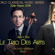 World Classical Music Series presents Artie's Trio