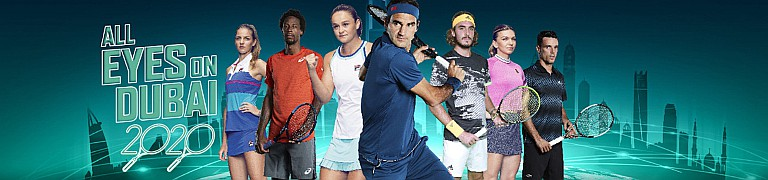 Dubai Duty Free Tennis Championships 2020: Men's Week - CLOSED