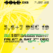 Sole DXB 2019