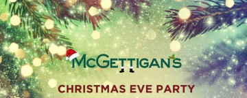McGettigan's JBR Christmas Eve Party