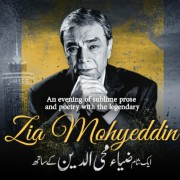 An Evening with Zia Mohyeddin
