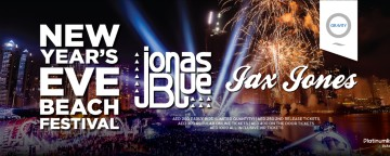 Zero Gravity New Year's Eve Beach Festival w/ Jonas Blue and Jax Jones