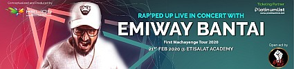 Rap'ped Up Live in Concert with EMIWAY BANTAI