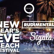NYE Beach Festival w/ Rudimental (DJ Set) & Sigala