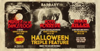 BARBARY Halloween Triple Feature