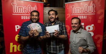 Time Out Dubai's Big Pub Quiz - The Lion by Nick & Scott edition
