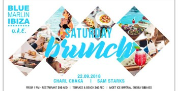 Blue Marlin Ibiza - UAE: Saturday Beach Brunch