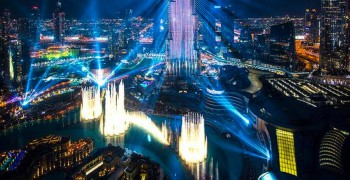 Burj Khalifa Light Up Downtown 2019 Show