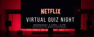 Trophy Room Virtual Quiz Night: Netflix
