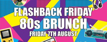 McGettigan's JLT Flashback Friday 80s Brunch