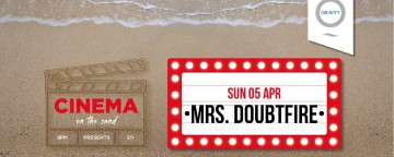 Cinema on the Sand presents Mrs Doubtfire