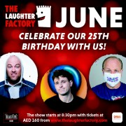 The Laughter Factory: '25th Anniversary' Tour