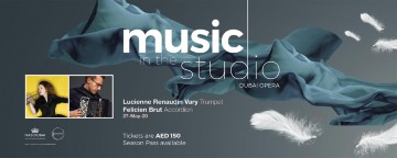 Music in the Studio 2020: Lucienne Renaudin Vary & Félicien Brut