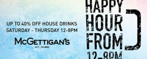 McGettigan's JLT Happy Hour