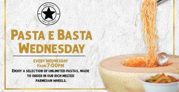 Stoke House Dining Pasta E Basta Wednesday