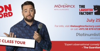 The Laughter Factory Presents Jason Manford 'Muddle Class Tour' Live in Dubai 2019