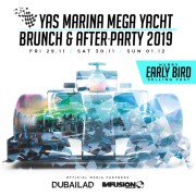 Yas Marina Mega Yacht Brunch & After-Party 2019
