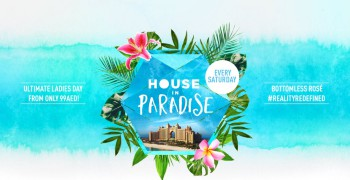 House in Paradise The Atlantis Dubai Ladies Day