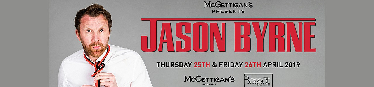 McGettigan's presents Jason Byrne Live in Dubai 2019