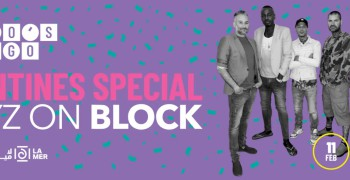 Bongo's Bingo Valentine's Special with Boyz on Block