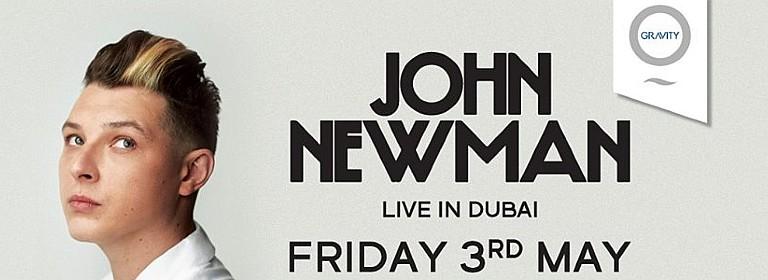 Zero Gravity: John Newman Live in Dubai