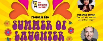 The Laughter Factory 'The Summer of Laughter' w/ Desiree Burch, Joe Bor & Nick Page - Abu Dhabi